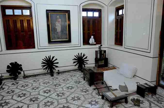 edu ghandi room