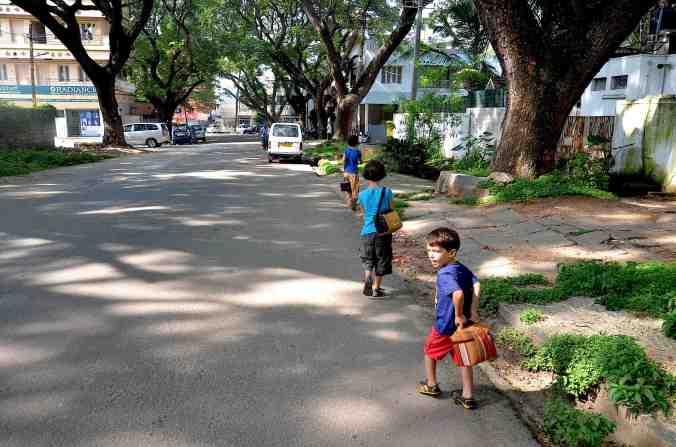vita quotidiana verso scuola